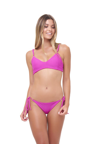 Storm Swimwear - Stromboli - Bikini Top in Fuchsia