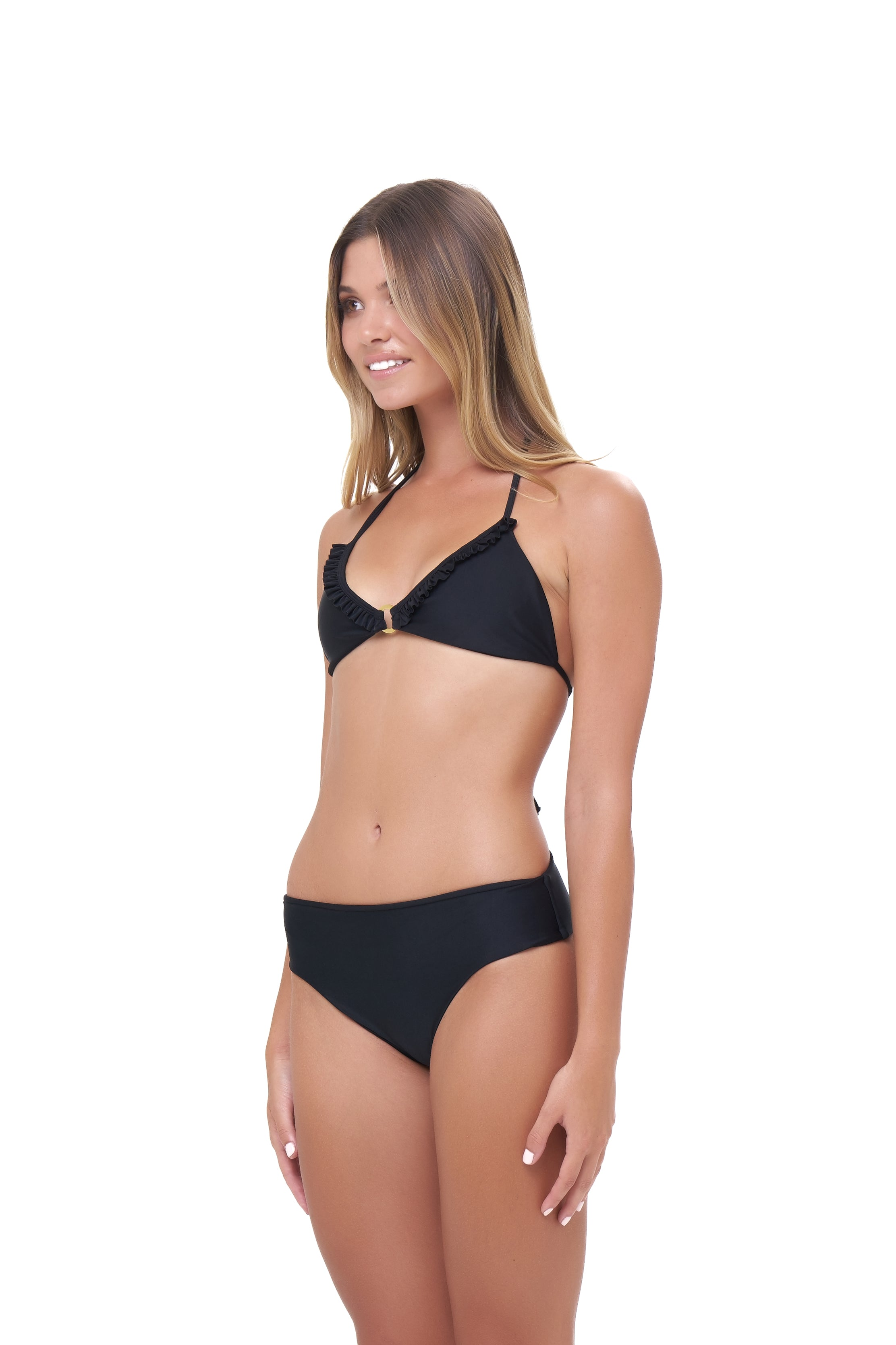 Storm Swimwear - Lagos - More Coverage Brief in Black
