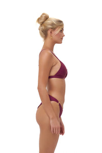 Storm Swimwear - Lagos - Bikini Top in Wine