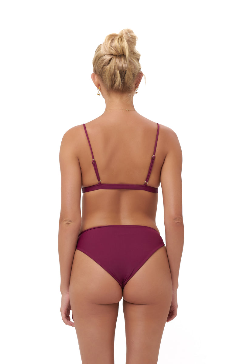 Storm Swimwear - Lanzarote - bikini Bottom in Wine