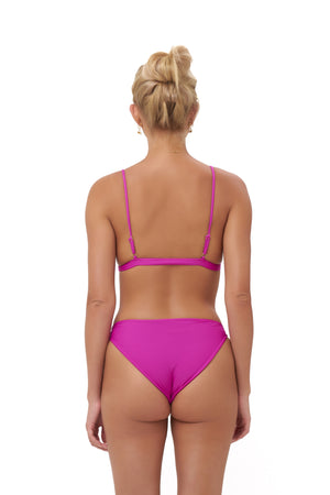 Storm Swimwear - Lagos - Bikini Top in Fuchsia