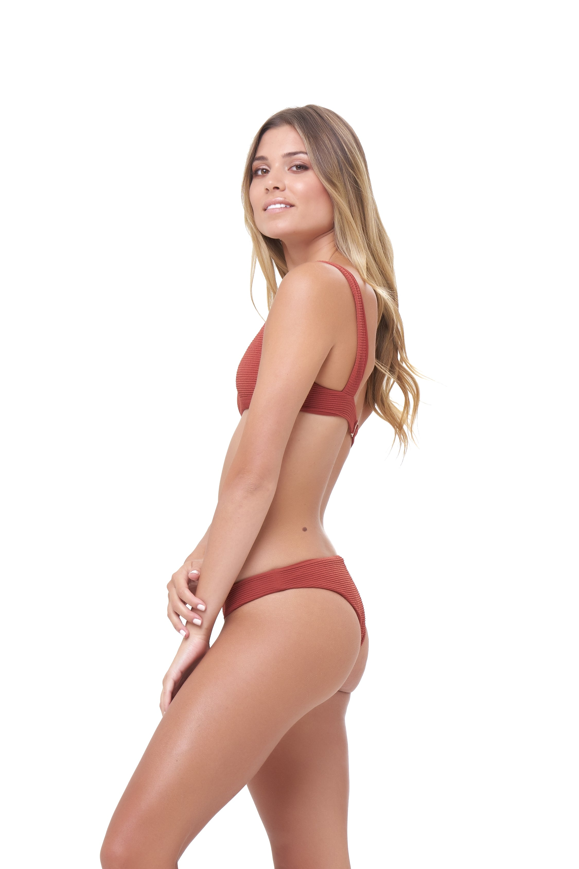 Storm Swimwear - St Barts - Bottom in Storm Le Nuage Rouille