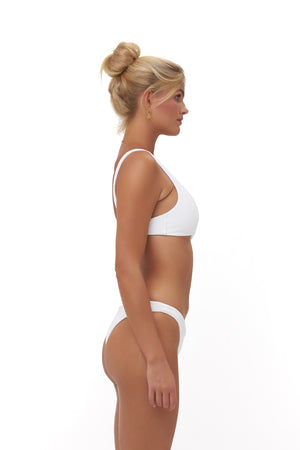 Storm Swimwear - Aruba - Centre Back Ruche Bikini Bottom in Storm Le Nuage Blanc