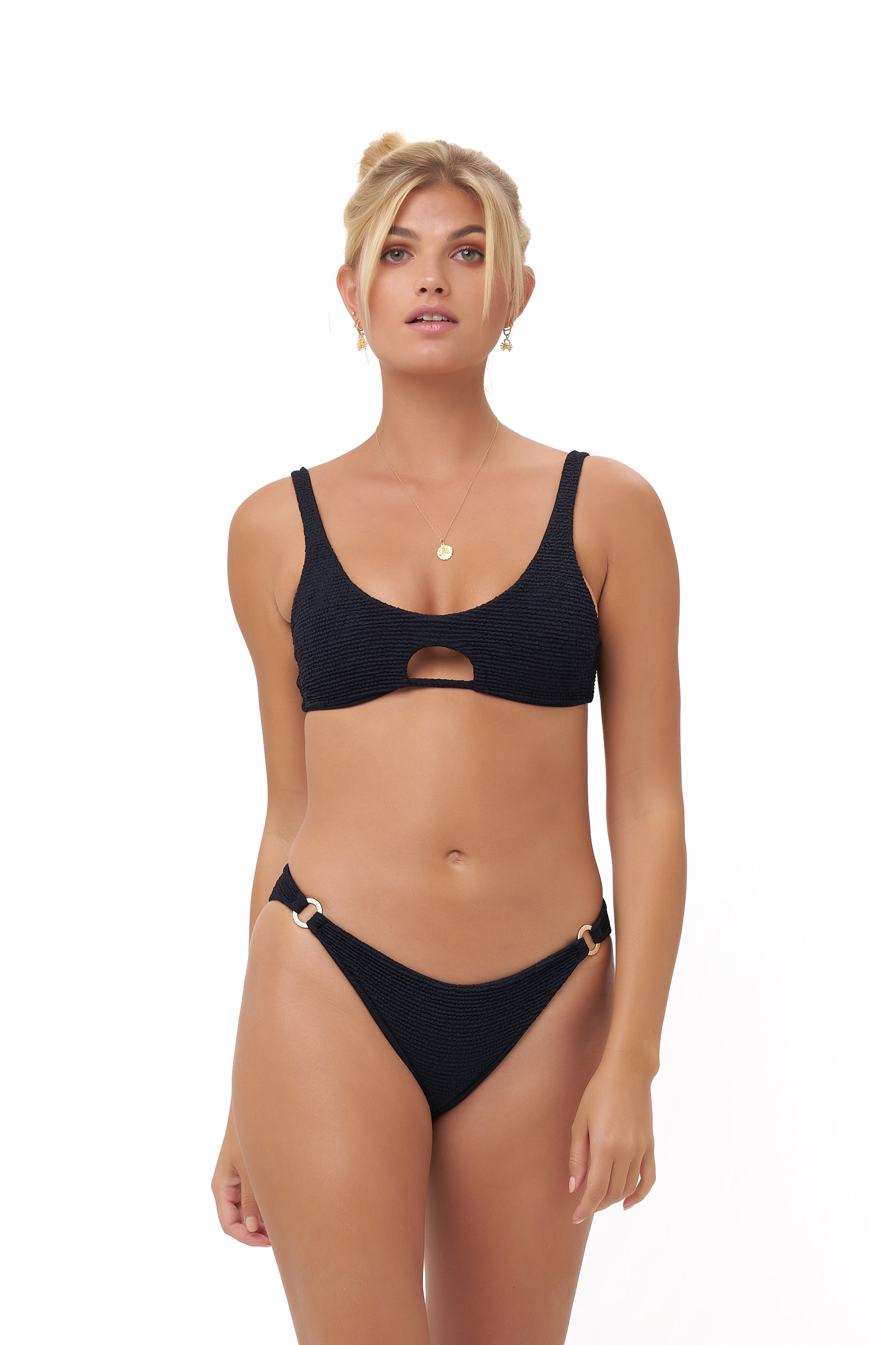 Storm Swimwear - Alicudi - Bikini Top in Storm Le Nuage Noir