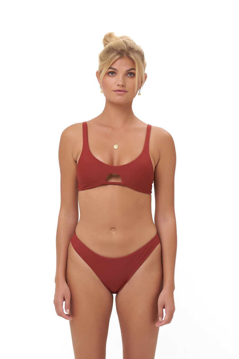 Storm Swimwear - Alicudi - Bikini Top in Desert Sand