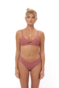 Storm Swimwear - Alicudi - Bikini Top in Canyon Rose