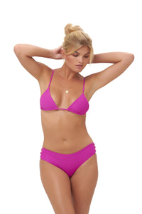Storm Swimwear - Playa Del Amor brief - Bikini Bottom in Fuchsia
