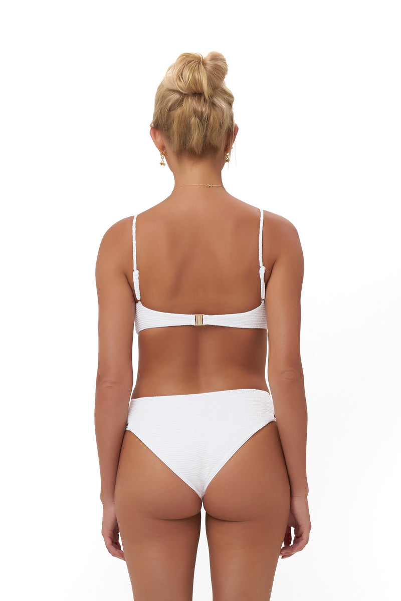 Storm Swimwear - Playa Del Amor brief - Bikini Bottom in Storm Le Nuage Blanc