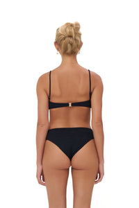 Storm Swimwear - Playa Del Amor brief - Bikini Bottom in Storm Le Nuage Noir