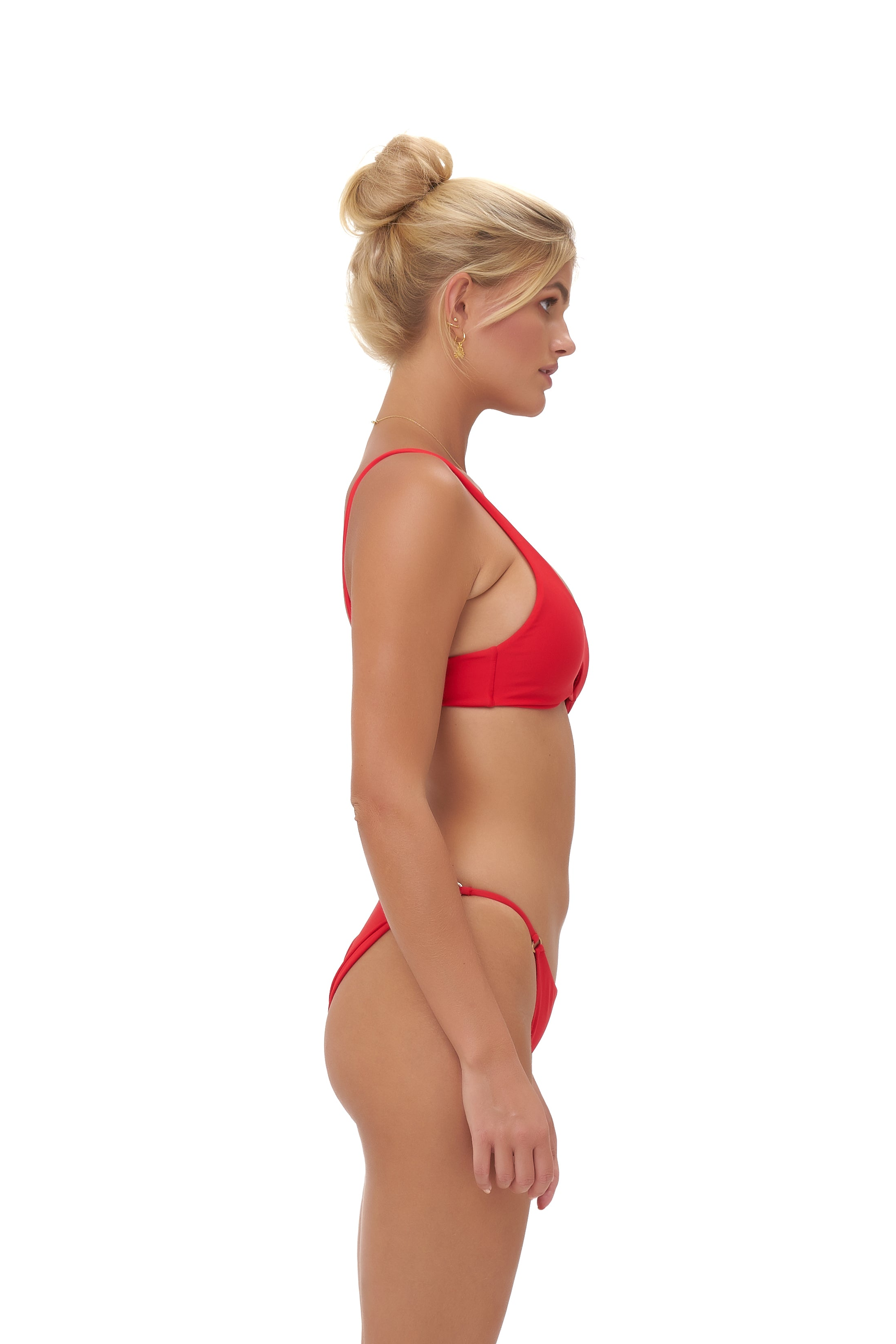 Storm Swimwear - Alicudi - Bikini Top in Scarlet