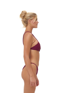 Storm Swimwear - Cap Ferrat - Bikini Bottom in Wine