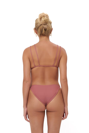 Storm Swimwear - Cap Ferrat - Bikini Bottom in Canyon Rose