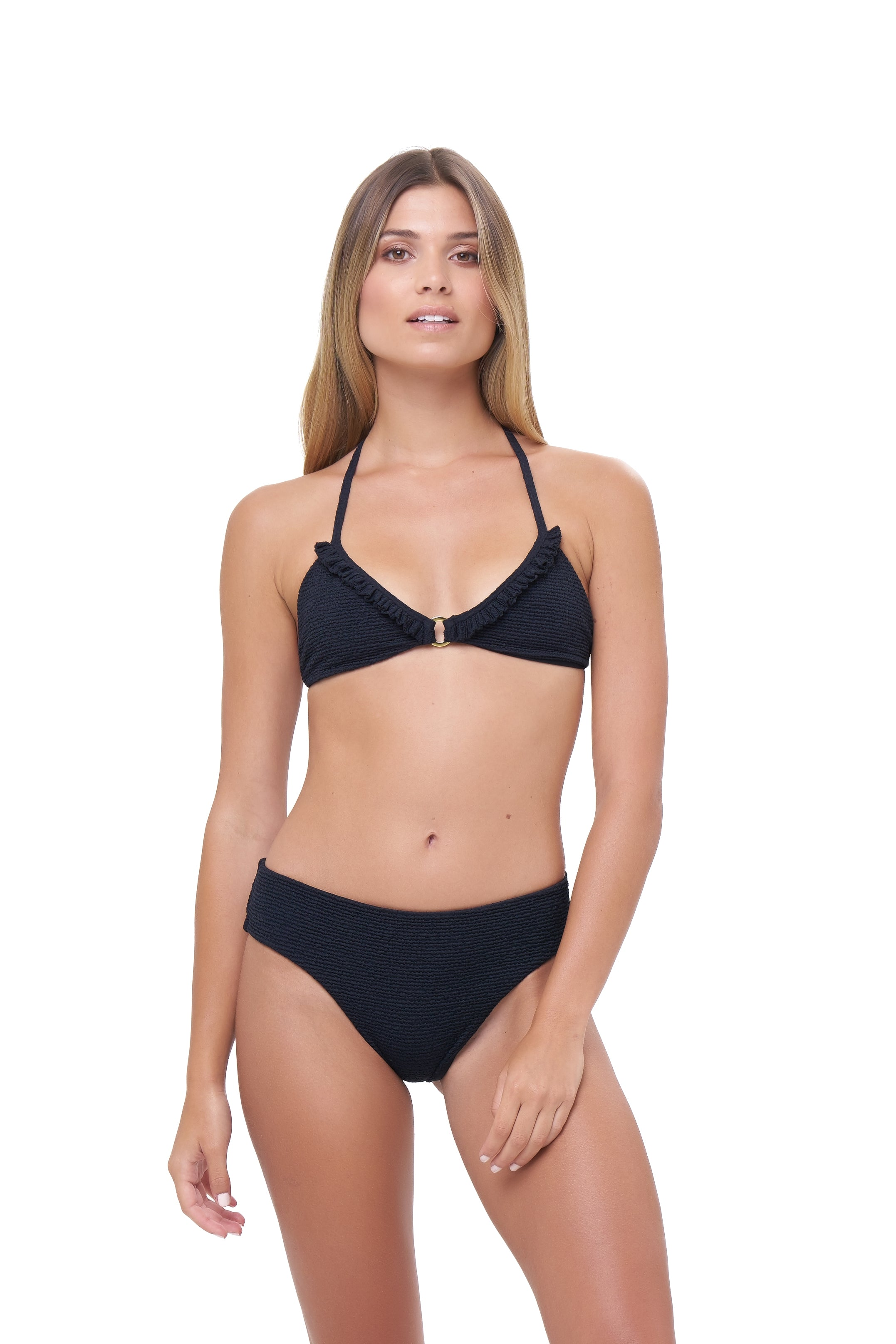 Storm Swimwear - Isola Bella  - Bikini Top in Storm Le Nuage Noir