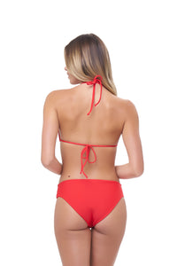 Storm Swimwear - Lagos - More Coverage Brief in Scarlet
