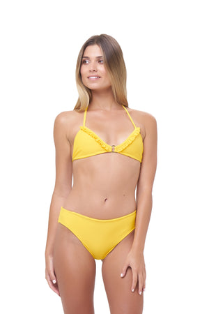 Storm Swimwear - Lagos - More Coverage Brief in Citrus