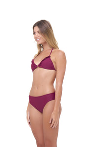 Storm Swimwear - Lagos - More Coverage Brief in Wine