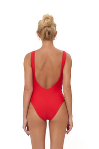Storm Swimwear - Playa Del Amor - One Piece Swimsuit in Scarlet