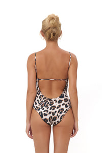 Storm Swimwear - Portofino - One Piece Swimsuit in Leopard Print