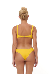 Storm Swimwear - Algarve - Brief with elastic shirring in Citrus