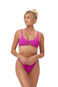 Storm Swimwear - Cap Ferrat - Bikini Bottom in Fuchsia
