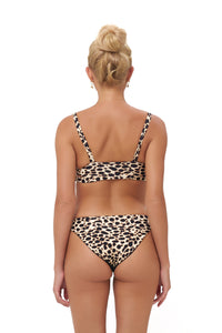 Storm Swimwear - Sicily - Bikini Top in Cheetah Print