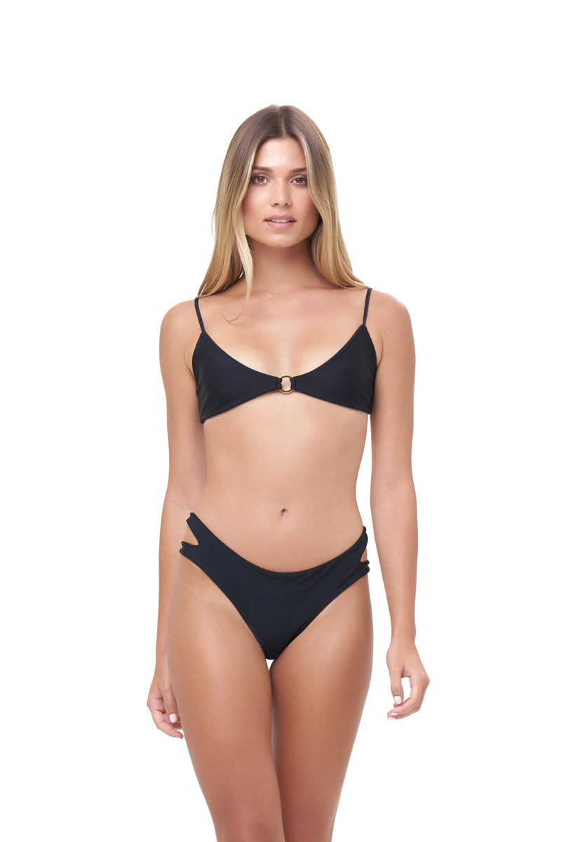 Storm Swimwear - Cottesloe - Split Brief in Black
