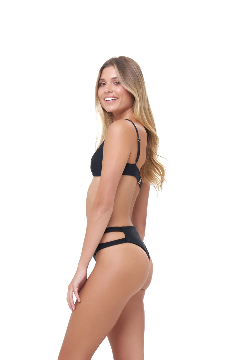 Storm Swimwear - Lanzarote - bikini top in Black