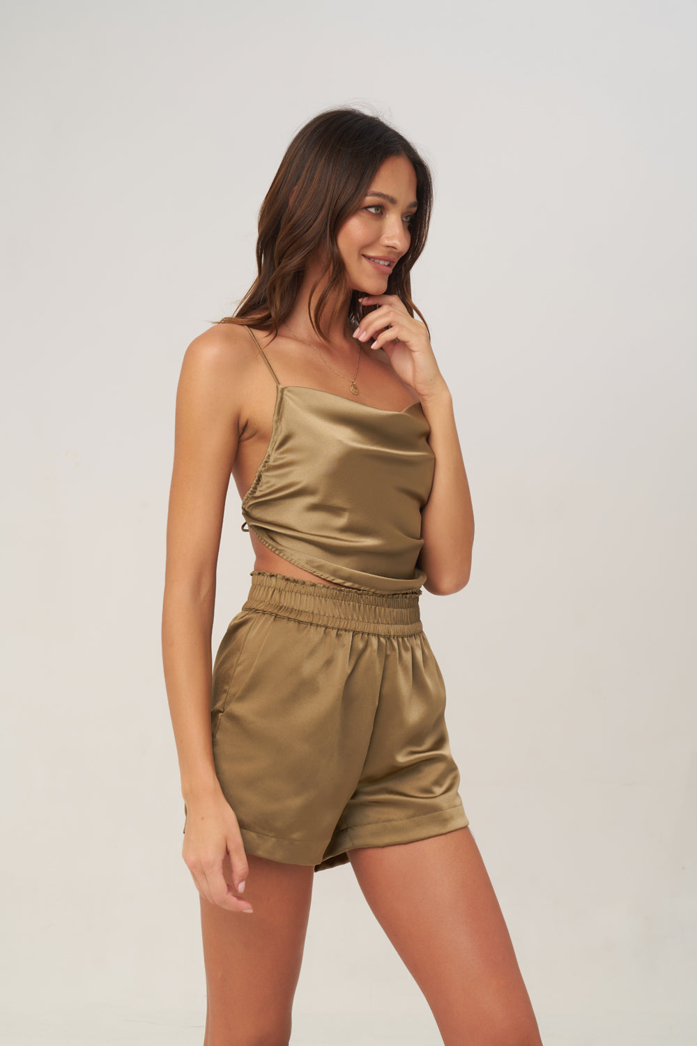 La Confection - Harlow - Top in Olive