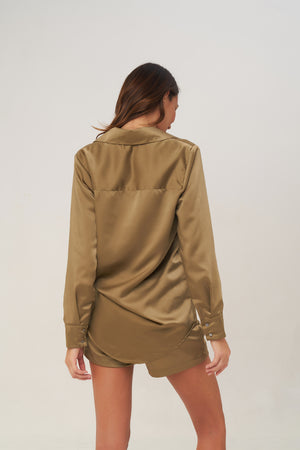 La Confection - Joie - Short in Olive