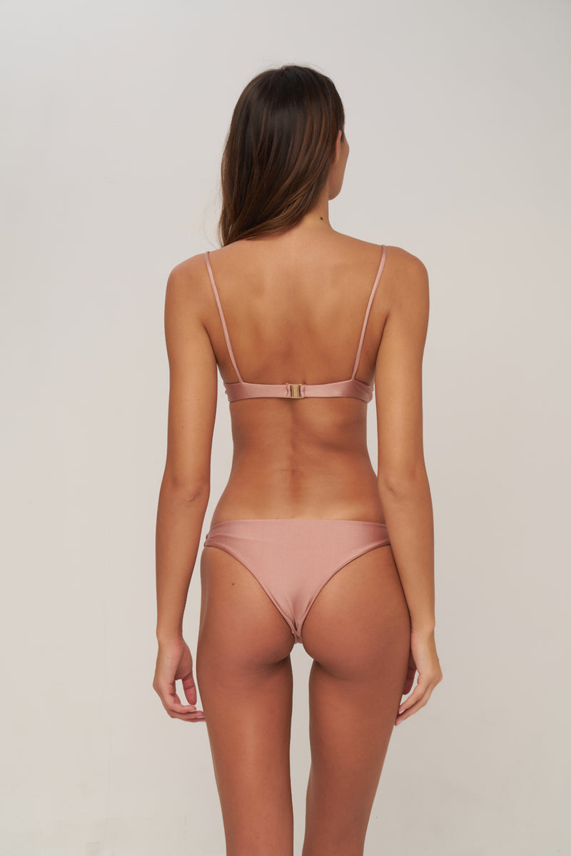 Storm Swimwear - The Want - Bikini Bottom in Cinnamon Shimmer