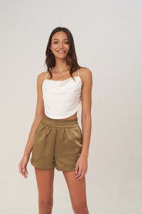 la Confection - Harlow - Top in Ivory