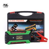 800A Peak Current Car Jump Starter Portable Starting Device 20000mAh Power Bank Charger Battery Booster For 6L Petrol 4L Diesel