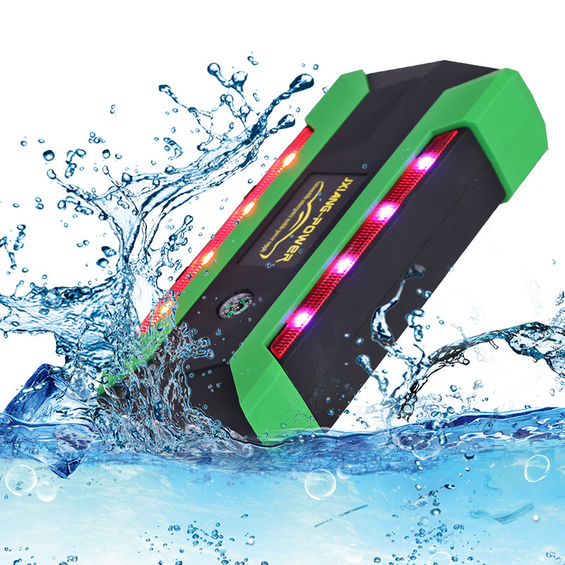 800A Peak Car Jump Starter Portable 20000mAh Power Bank Booster For 6L Petrol 4L Diesel