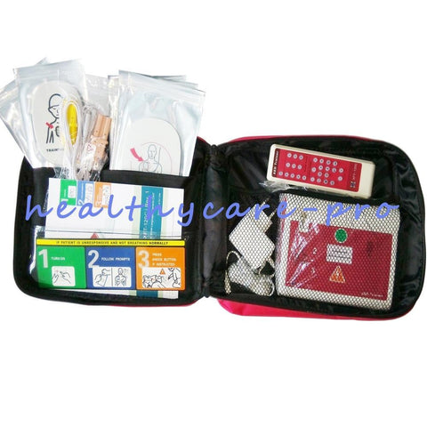New AED Simulation Trainer Emergency Situation AED Training Machine For Fist Aid CPR Practice In English And Spanish