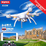 SYMA X5SW Drone with WiFi Camera Real-time Transmit Quadcopter (X5C Upgrade) HD Camera Drone  Helicopter