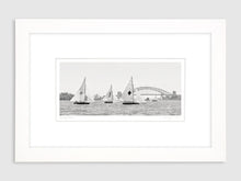 Vintage 18' Skiffs #4, Sydney Harbour, Gift Box