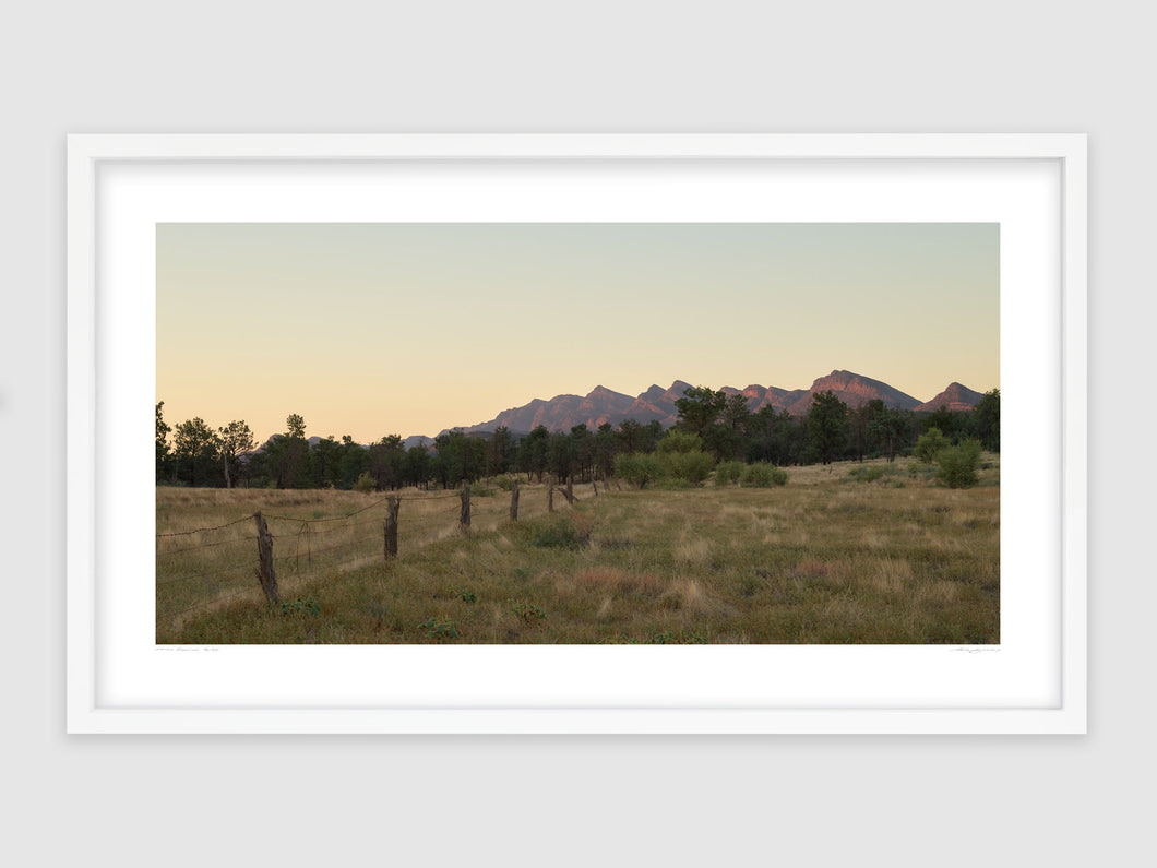 Fenceline, Flinders Ranges, South Australia