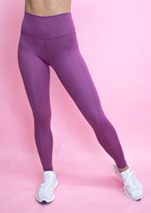 POMEGRANATE V- SIMPLICITY HIGH WAIST LEGGINGS