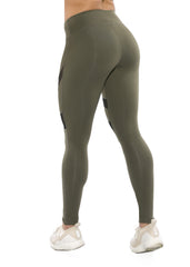 HEATHER OLIVE LEGGINGS
