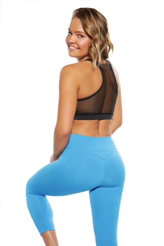 BRIGHT BLUE HEARTCORE CAPRI