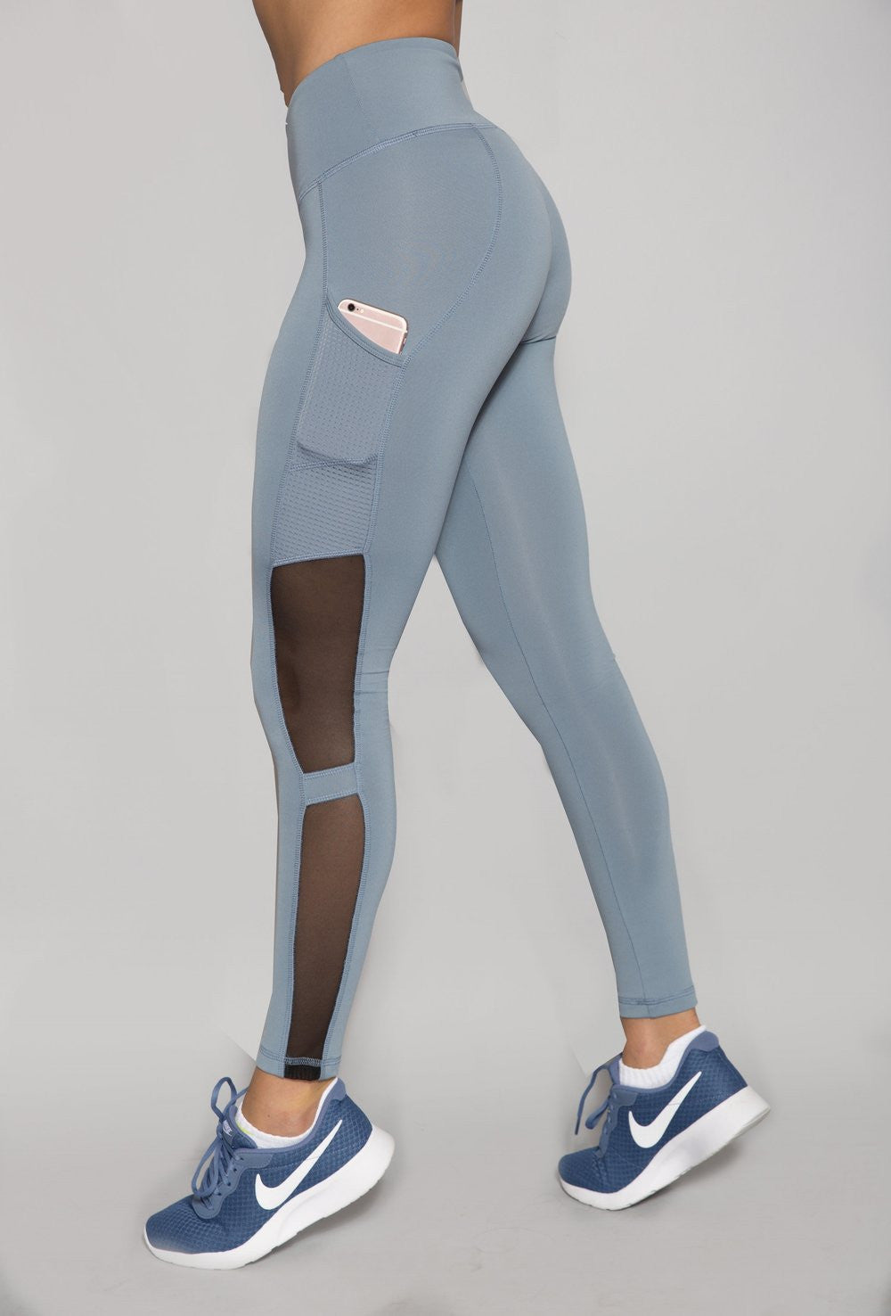 PLATINUM VORTEX SIDE POCKET LEGGINGS
