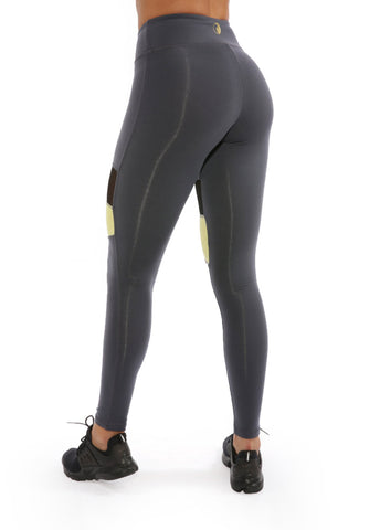 CHARCOAL MAGIC PANELS LEGGINGS