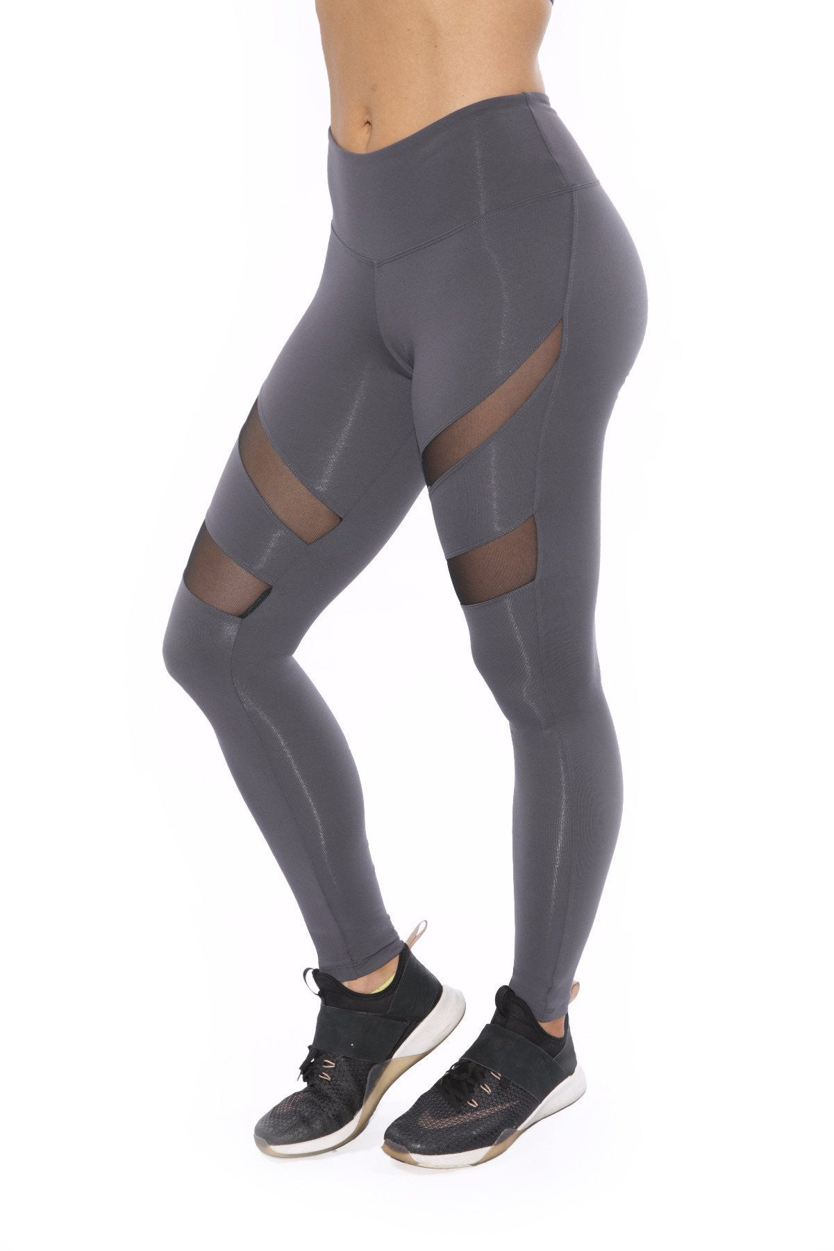 18014916a11ac HEATHER GREY MESH LEGGINGS – JFitness Active Wear