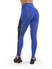 VORTEX ROYAL SIDE POCKET LEGGINGS
