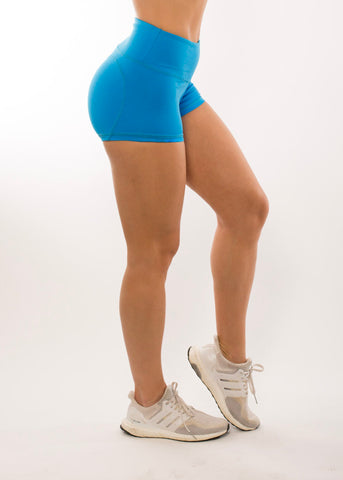 HEARTCORE BRIGHT BLUE SHORTS