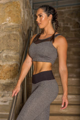 STARDUST STEEL GREY DYE LEGGINGS