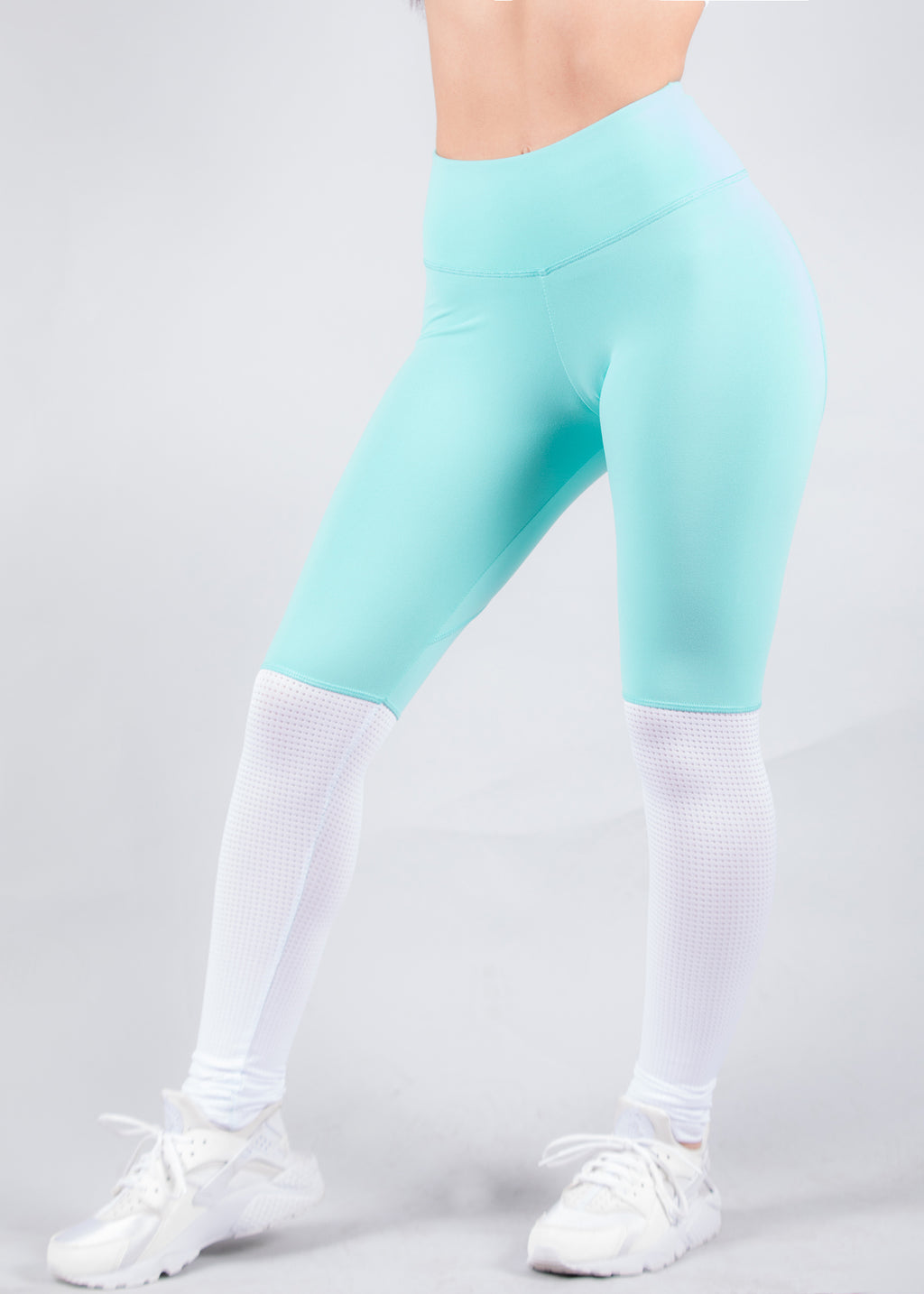 Aqua Heartcore Two Tone Leggings