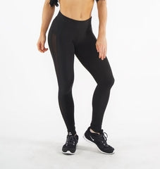 GLYDE BLACK SIDE MESH LEGGINGS