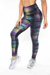 VIBRATION PRINTED LEGGINGS