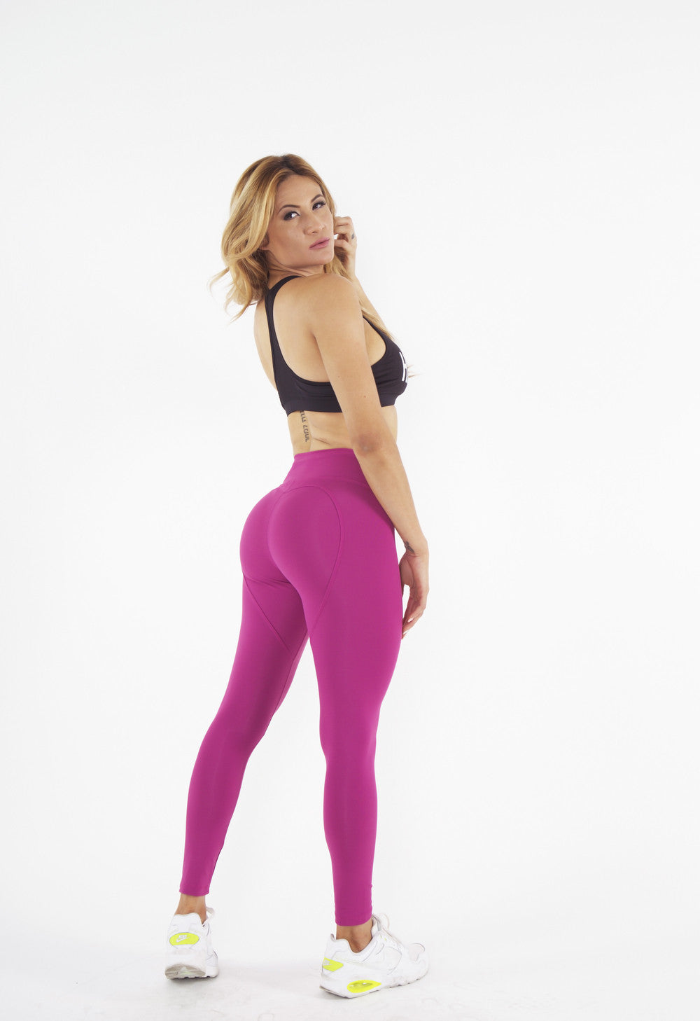 Heartcore Magenta Leggings